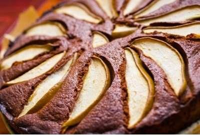 schokoladen birnenkuchen