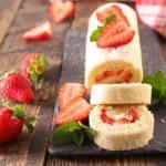 Erdbeer-Oreo-Rolle