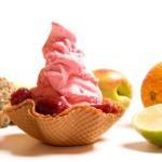 Sahneeis-früchte