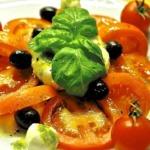 Tomaten mit Morzarella
