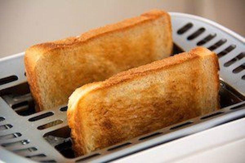 Thunfisch auf Toast
