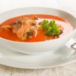 Ungarische Karpfensuppe