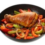 Hähnchenschenkel Paprika