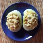 gefüllte Zwiebel mit Grünkern