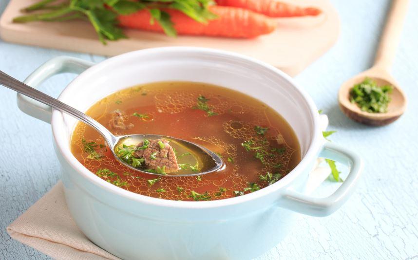 Sagosuppe Rindfleischsuppe Rezept von Oma