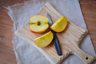 Äpfe geschntten