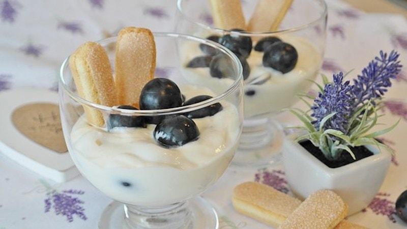 Ein ausgefallenes Dessert: Tee-Creme