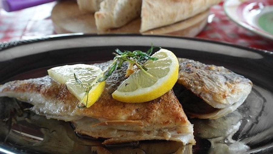 Fisch gebacken