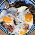 Grünkohl mit Eiern und Speck 2