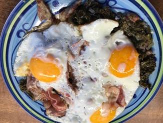 Grünkohl mit Eiern und Speck 1