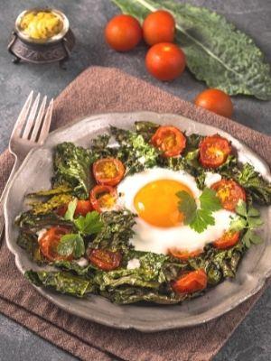 grunkohl-teller-eier