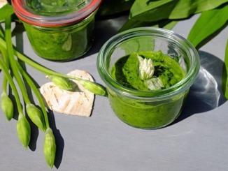 Bärlauch Pesto im Glas