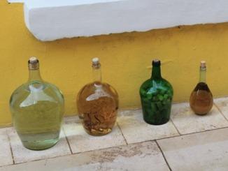 Essig in Flaschen