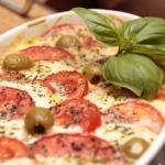 Auflauf mit Grünkern und Tomaten