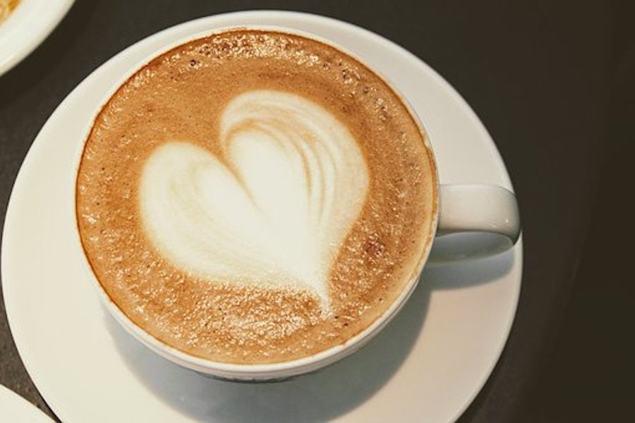 Kaffee inn der Tasse
