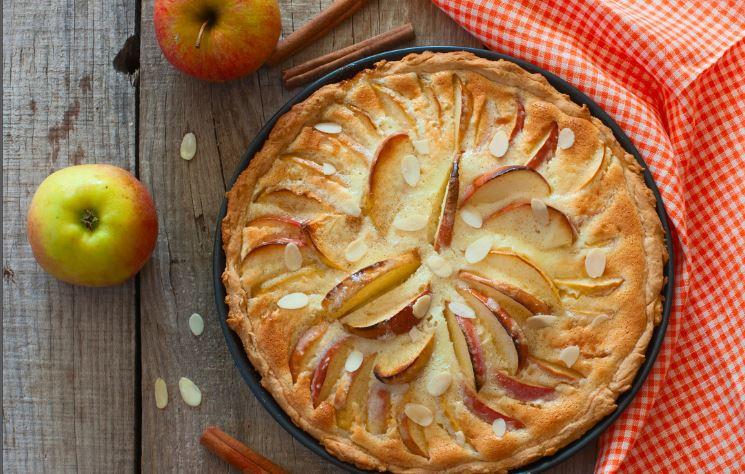 Low Carb Apfelwähe - der sahnige Apfelkuchen-Klassiker 2