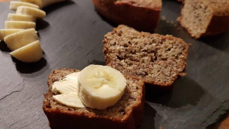 Bananenbrot ohne Zucker Mehl Milch