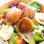 Eier gekocht für Salat