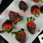 Erdbeer überzogen mit Schokolade 2