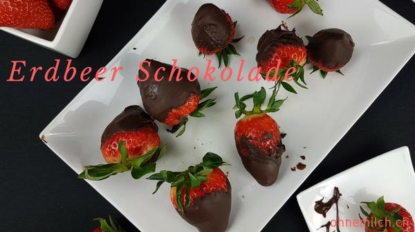 Erdbeer überzogen mit Schokolade 4