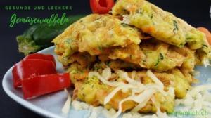 Scharfe Gemüsepuffer mit Zucchini