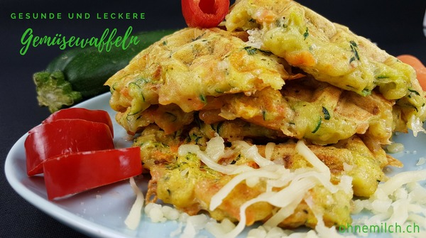 Scharfe Gemüsepuffer mit Zucchini 1