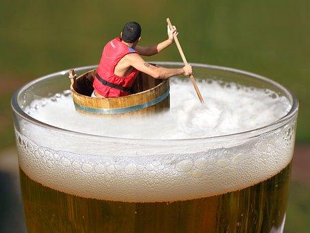 Die Biersuppe gut rühren