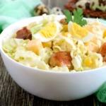 Geflügelsalat-eier-krauter