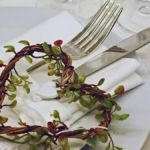 Gedeckter Tisch Romanik