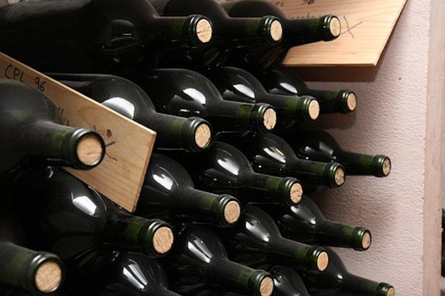 Flaschen im Keller lagern