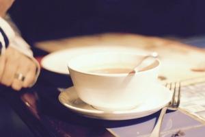 Kerbelsuppe mit Gerstenschrot – so mag das Oma