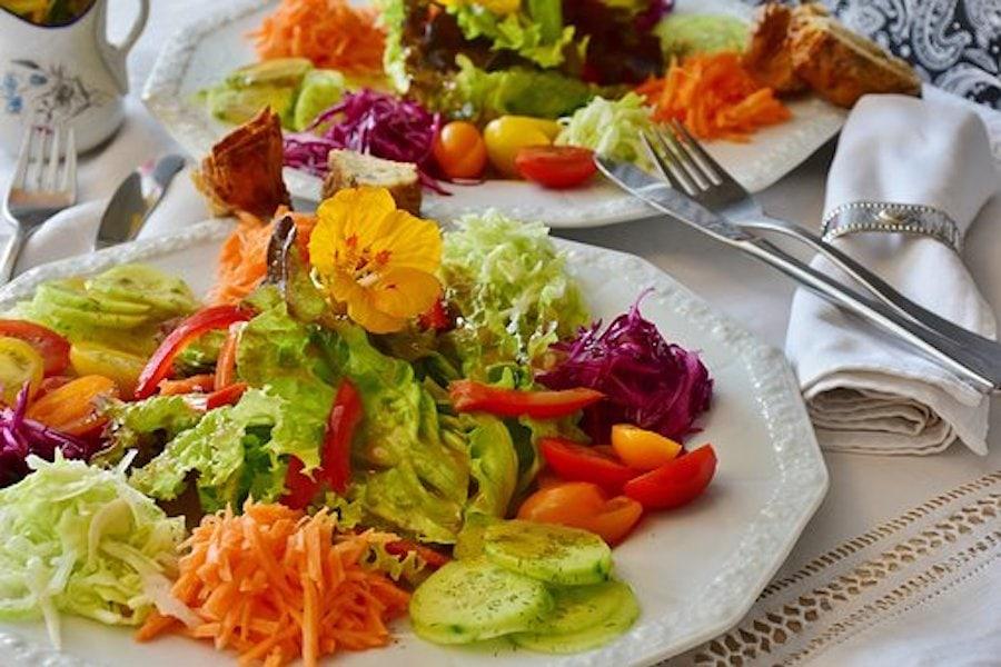 Kohl - Gemüseteller