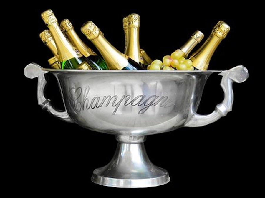 Geburtstag Champagner im Kübel