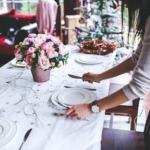 Tisch vorbereiten vegetarisch