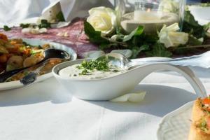 Joghurt-Minze Dip – für viele Gerichte