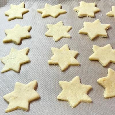 Kekse ausgestochen