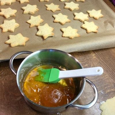 Kekse gebacken