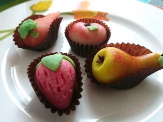 Marzipan als Obst