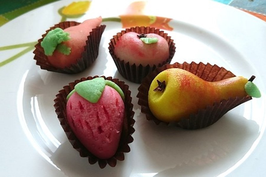 Schnell veredeltes Marzipan 1
