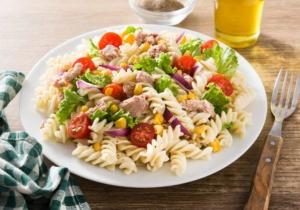 Leckerer Nudelsalat mit Thunfisch