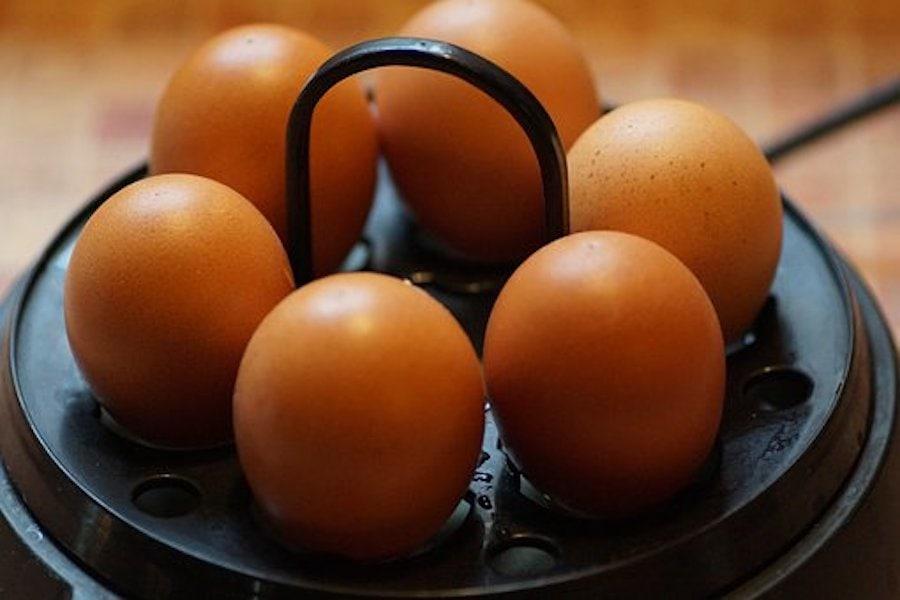 Eier kochen