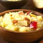 Sauerkrautsalat-apfel-trauben