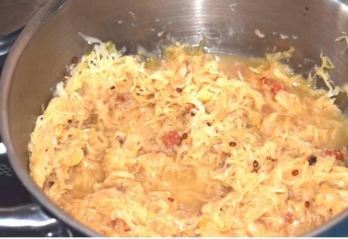 sauerkraut kocht