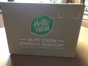 Die HelloFresh Box