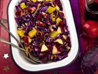 rotkohl-obst-salat