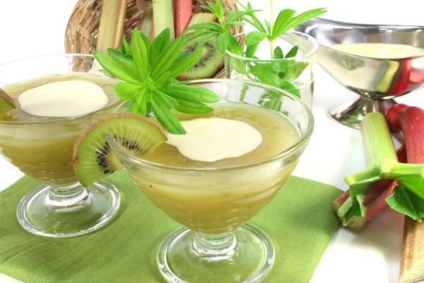Waldmeister Creme Rezept Nachtisch Dessert