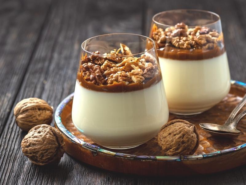 Lecker-süßes Walnusscreme Dessert 1