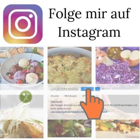 Folge mir auf Instagram