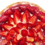 Lebkuchen Torte mit Erdbeeren