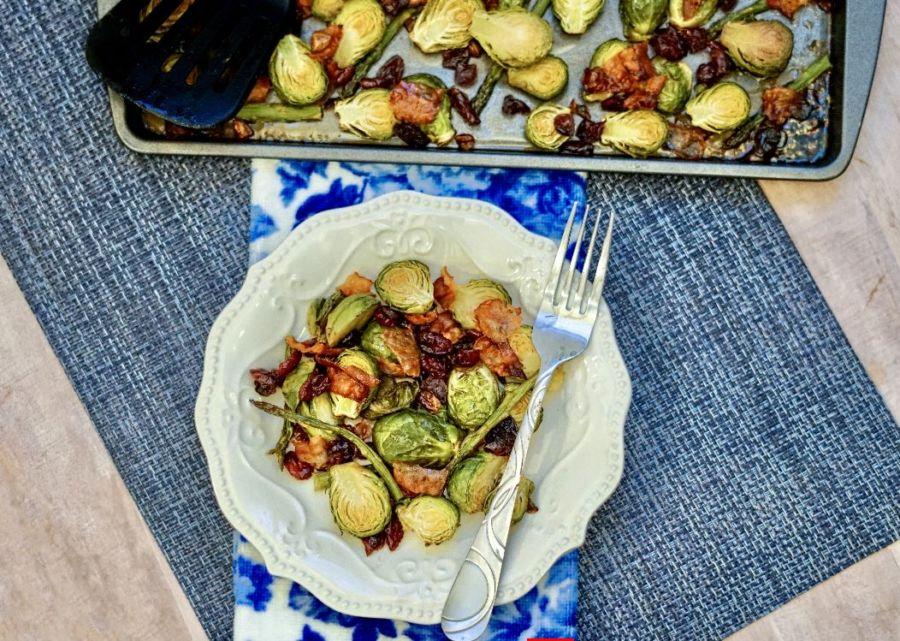 Rosenkohl mit Speck im Ofen Rezept